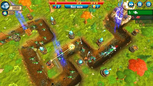 Fantasy Realm TD. Offline Tower Defense Game  screenshots 8