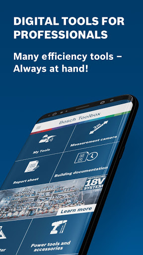 Bosch Toolbox - Digital Tools for Professionals 6.5.1 screenshots 1