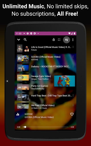 Download music, Free Music Player, MP3 Downloader 1.137 Screenshots 11