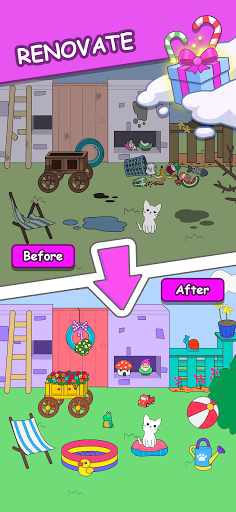 Cats Tower - Adorable Cat Game! 2.28 screenshots 4