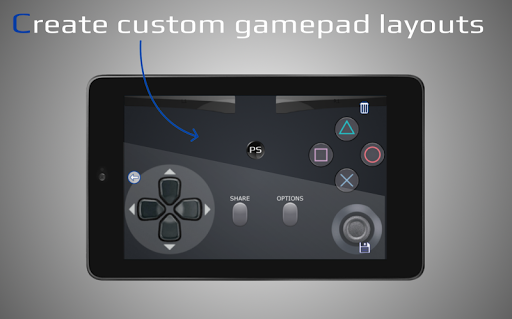 PSPad: Mobile Dualshock Gamepad for PS5/ PS4 android2mod screenshots 7