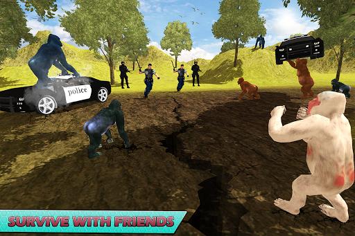 Gorilla Escape City Jail Survival screenshots 10