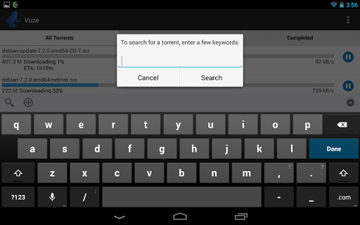 Vuze Torrent Downloader 2.1 Screenshots 7