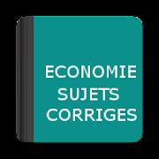 Economie - Sujets Corrigés