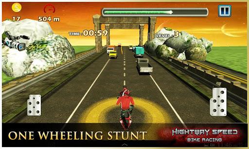 Highway Speed Motorbike Racer : Bike Racing Games  screenshots 8