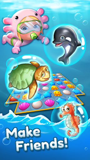 Ocean Friends : Match 3 Puzzle 41 screenshots 3