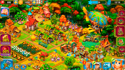 Charm Farm: Village Games. Magic Forest Adventure. 1.143.0 screenshots 21