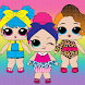 Lol Doll : Avatar creator dress up games 2021
