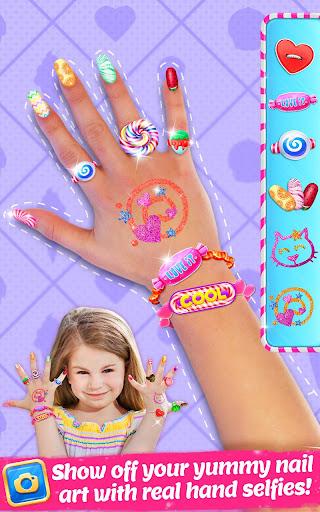 candy nail art - sweet fashion screenshot 1