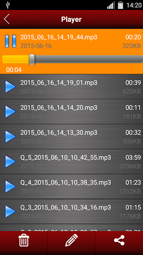 Voice recorder 1.38.463 Screenshots 12