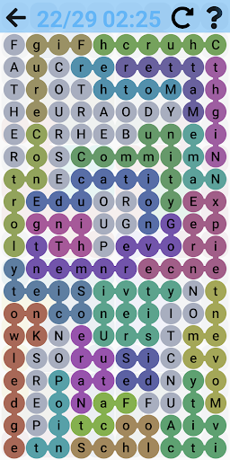 Word Search - Free word games. Snaking puzzles 2.1.4 screenshots 12