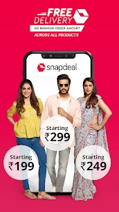 Snapdeal Shopping App -Free Delivery on all orders Latest Mod Apk 7.4.1 (Unlocked) 2