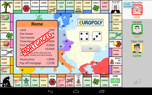 Europoly screenshots 9