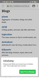 I2P Browser | Dark Web