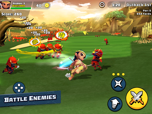 Ninja Golf u2122 1.6.7 screenshots 13