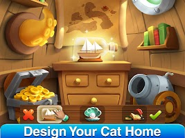 Cat Home Design: Decorate Cute Magic Kitty Mansion