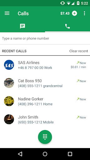 Hangouts Dialer – Telepon