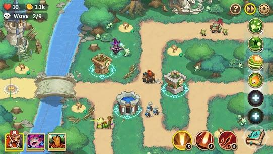 Empire Defender Strategy TD Offline Game Fantasy Apk Mod Download 2