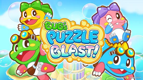 Bub's Puzzle Blast ! - Bubble Bobble Casual Game