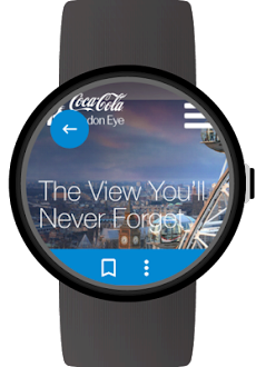 Web Browser for Wear OS (Android Wear)のおすすめ画像3