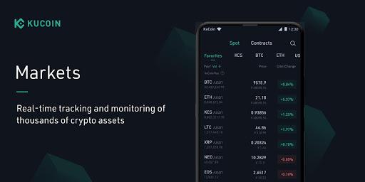 KuCoin: Bitcoin Exchange & Crypto Wallet android2mod screenshots 2