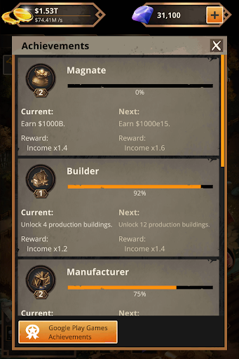 Idle Trading Empire 1.2.3 screenshots 8