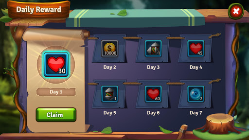 Mystery Forest - Match 3 Game Puzzle (Rich Reward) apkdebit screenshots 7