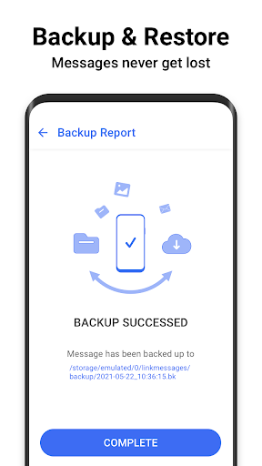 Messages - Messenger for SMS App android2mod screenshots 7
