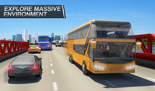 Coach Bus Simulator - City Bus Driving School Test 2.1 screenshots 9