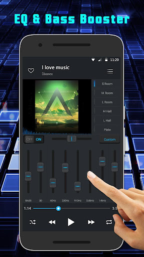Equalizer Music Player and Video Player 3.0.1 Screenshots 2