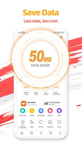 UC Browser-Secure, Free & Fast Video Downloader 13.3.8.1305 screenshots 2