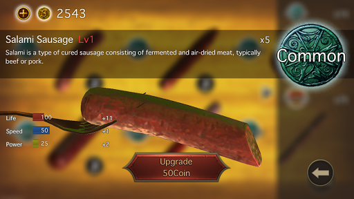 Sausage Legend - Online multiplayer battles 2.2.0 screenshots 4