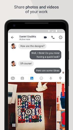 Workplace Chat apktram screenshots 4