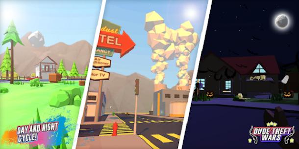 Dude Theft Wars Mod APK (Free Shopping) 8