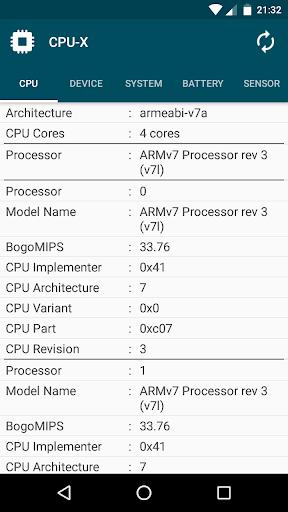 CPU-X 2.0 Screenshots 2