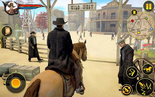 Cowboy Horse Riding Simulation : Gun of wild west 5.1 screenshots 7