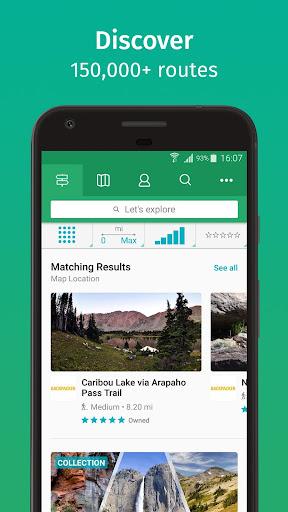 ViewRanger: Trail Maps for Hiking, Biking, Skiing apktram screenshots 1