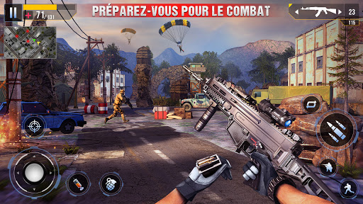 Code Triche Nouveau tireur d'élite commando hors ligne 2020 (Astuce) APK MOD screenshots 2