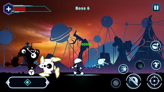 Stickman Ghost 2: Galaxy Wars screenshots 16