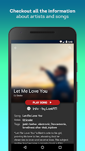 Shuffly Music - Song Streaming Player Screenshot