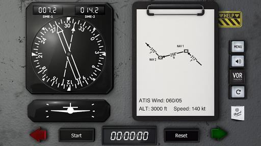 VOR Tracker - IFR Trainer Navigation Simulator Pro  screenshots 4