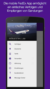 FedEx Mobile Screenshot