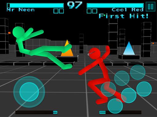 Stickman Fighting: Neon Warriors screenshots 11