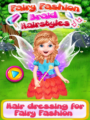 Fairy Fashion Braided Hairstyles games for girls apkpoly screenshots 1