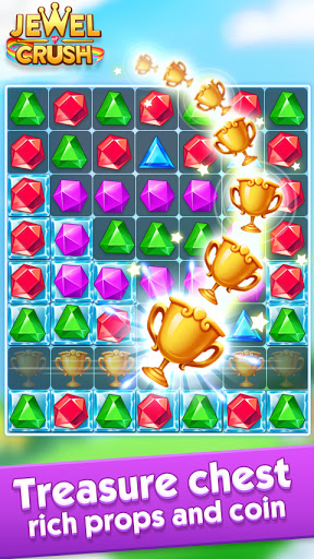 Jewel Crushu2122 - Jewels & Gems Match 3 Legend  screenshots 9