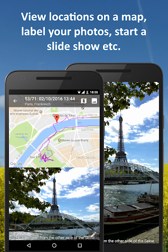 PhotoMap Gallery - Photos, Videos and Trips android2mod screenshots 2