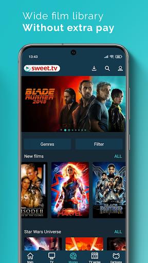 SWEET.TV. 260+ TV channels and TOP movies apktram screenshots 6