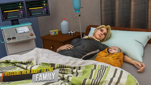 Pregnant Mother Simulator: Happy Virtual Family 3D 3.0 screenshots 1