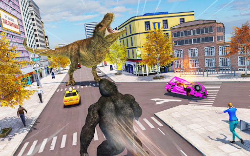 Crazy Gorilla GT Parkour-Superhero Mega Ramp Stunt screenshots 10