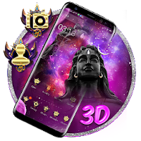 Lord Shiv Ji 3D Parallax Theme ?